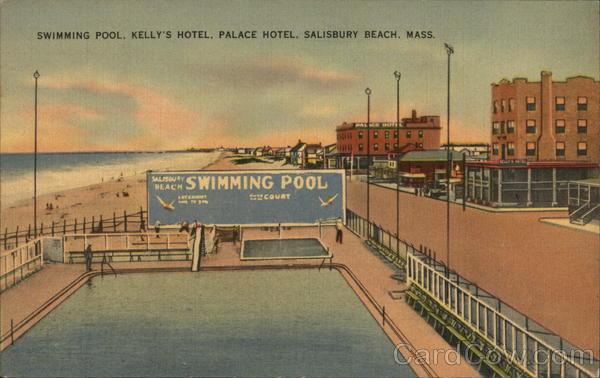 Swimming Pool Kelly 39 S Hotel Palace Hotel Salisbury Beach
