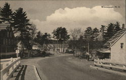 Road Through Winnisquam