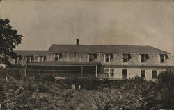 G. F. S. Holiday House, View Fronting the Bay Postcard
