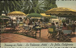 Dining In Patio - La Valencia Hotel