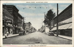 Looking Along Cedar Street