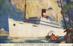 Steamer Toloa, Great White Fleet - United Fruit Company