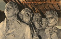 The Artist's Studio Model, Mount Rushmore Memorial