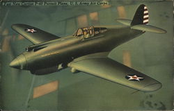 Fast New Curtiss P-40 Pursuit Plane, U.S. Army Air Corps