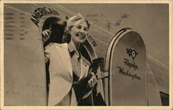 American Airlines Hostess (Flight Attendant)