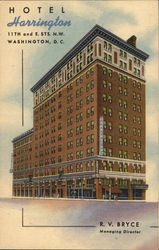Hotel Harrington, 11th and E. Sts. N.W.