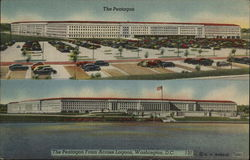 The Pentagon from across lagoon