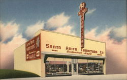 Invitation to Santa Anita Furniture Co 15th Semi-Annual Storewide Clearance Sale