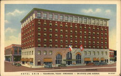 Hotel Grim -Texarkana, Texas - Arkansas - On State Line Avenue