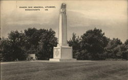 Spanish War Memorial, Attleboro, Massachusetts