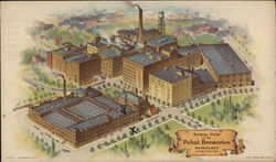 Aerial View of Pabst Breweries