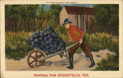 Greetings from Dodgeville, WIS.