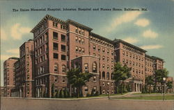 The Union Memorial Hospital, Johnston Hospital and Nurses Home
