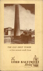 The Old Shot Tower...a five-minute walk from the Lord Baltimore Hotel