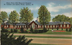 Henry Ross Hill Memorial Hospital, Soldiers and Sailors Home