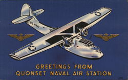 Greetings From Quonset Naval Air Station