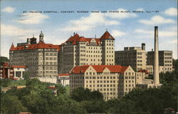 St. Francis Hospital, Convent, Nurses' Home and Power Plant