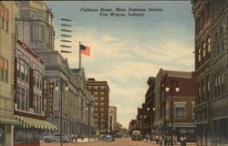 Calhoun Street, Main Business Section