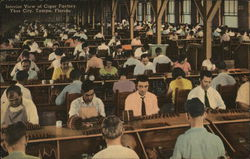 Interior View of Cigar Factory in Ybor City
