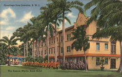 Greetings from Jamaica, B.W.L. The Annex, Myrtle Bank Hotel