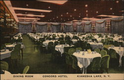 Dining Room, Concord Hotel