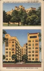 Two Views of Flori de Leon Apartments
