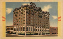Alex Johnson Hotel Postcard
