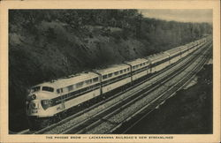 The Phoebe Snow, Lackawanna Railroad's New Streamliner
