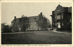 Girls Dormitory and Science Hall, Geneva College