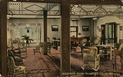 Reception Room, Florence Villa