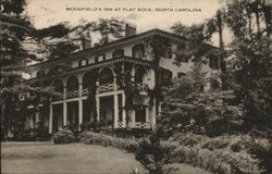 View of Woodfield's Inn Postcard
