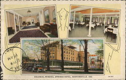 Colonial Mineral Springs Hotel and Sanitarium (That home-like place)