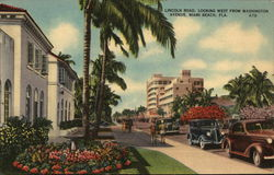 Lincoln Road, Looking West From Washington Avenue