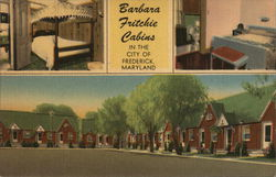 Barbara Fritchie Cabins in the City of Frederick, Maryland