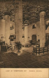 "Lobby of ""Westward Ho"""