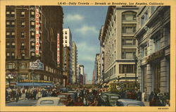 Daily Crowds - Seventh at Broadway