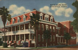 Royal Palms Hotel Postcard