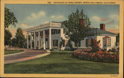 Residence of Bing Crosby Postcard