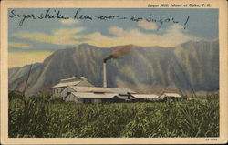 Sugar Mill, Kaneohe, island of Oahu