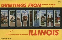 Greetings From Belvidere Illinois