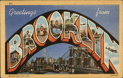 Greetings From Brooklyn N.Y.