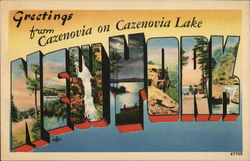 Greetings from Cazenovia New York
