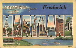 Greetings from Frederick, Maryland