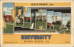 Greetings From Southern University
