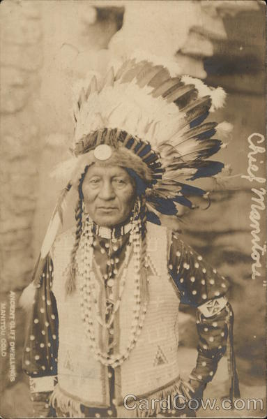Chief Manitou Native Americana