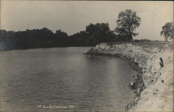 San Joaquin River Looking Downstream California C. P. Wilcox