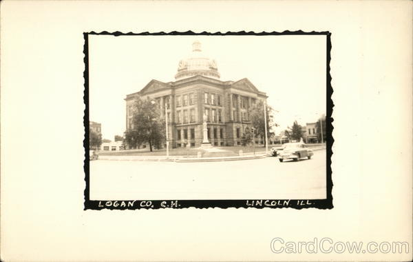 Logan County Court Hoouse Lincoln Illinois