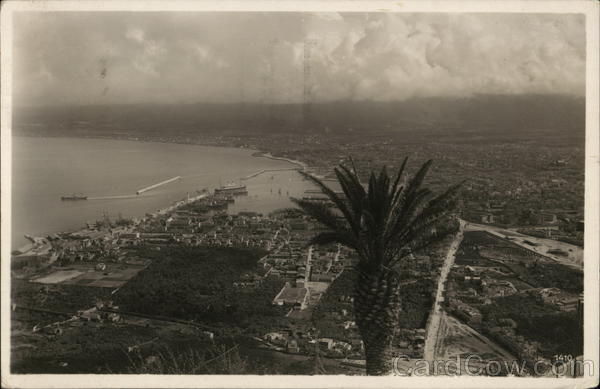 Aerial View of City Palermo Italy