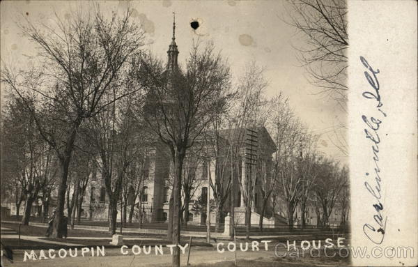 Macoupin County Court House Carlinville Illinois