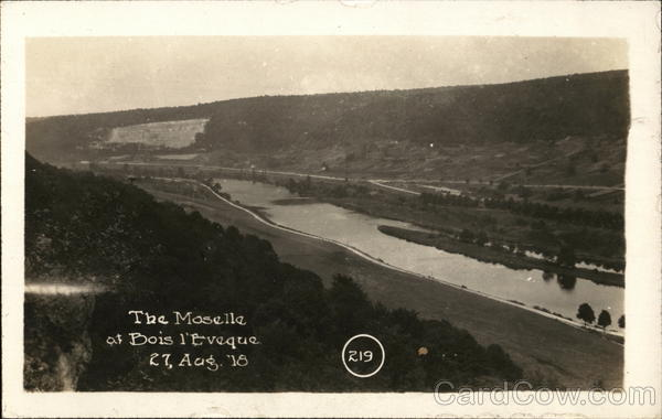 The Moselle Bois l'Eveque France